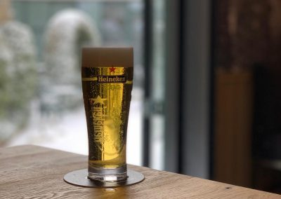 Biertje sneeuw